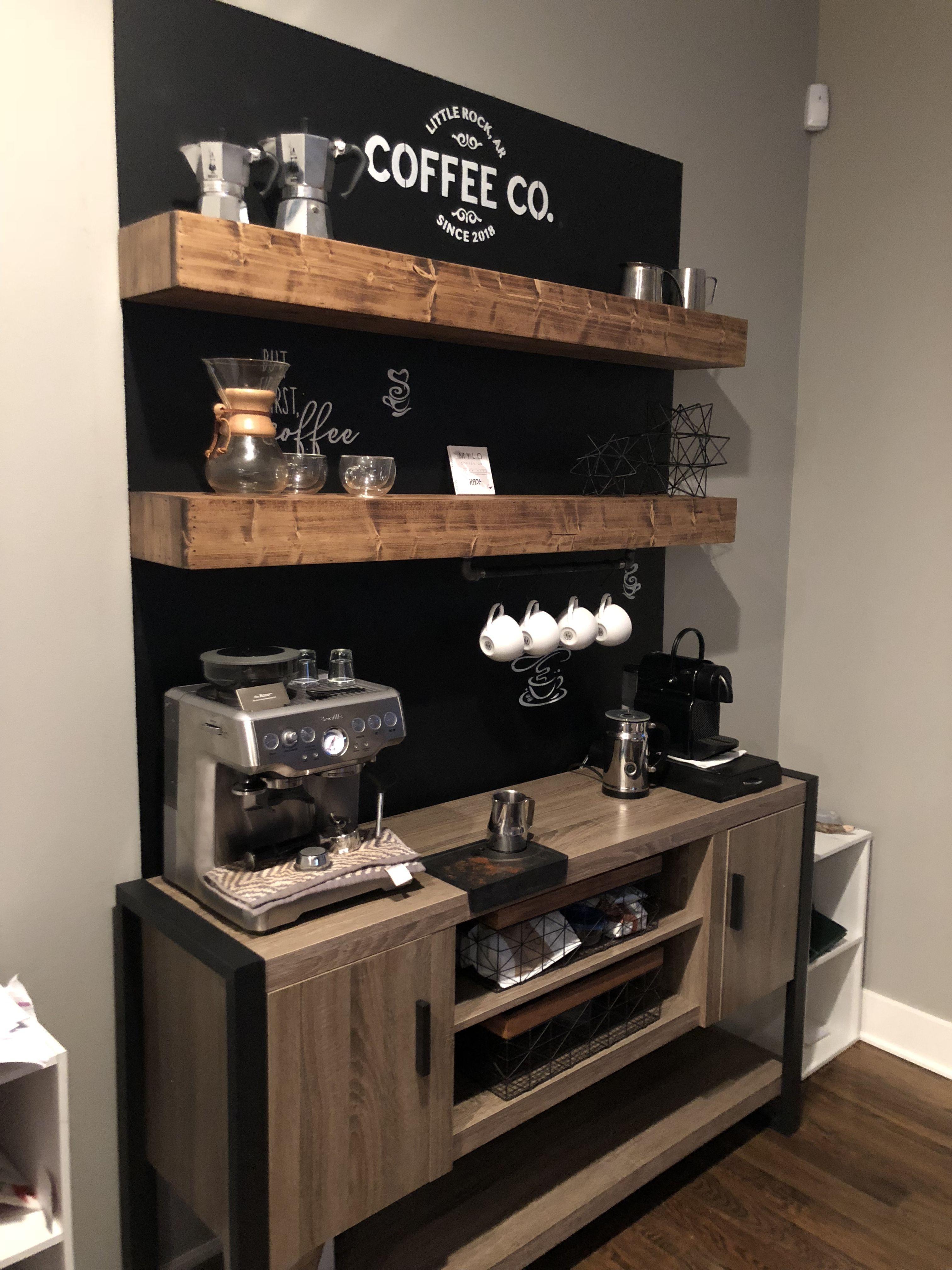 Coffee stand | Coffee bar home, Coffee bar design, Diy ...