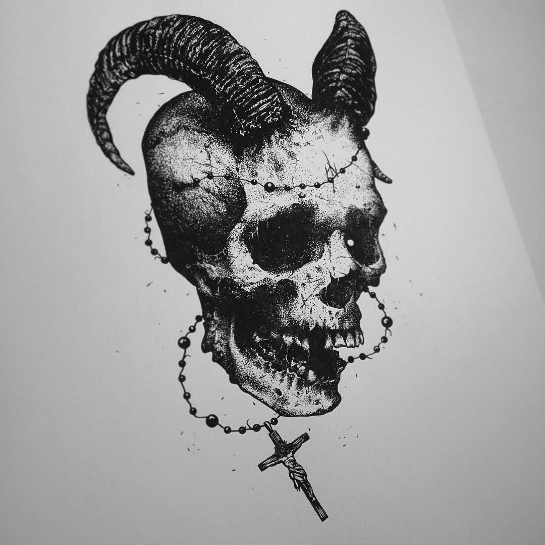 Just For Fun Skull Darkart Artwork Artfido Art Fineart