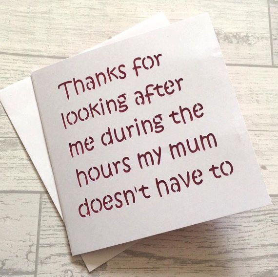 Funny Teacher Card, Thank You Teacher, Teacher Card, Card