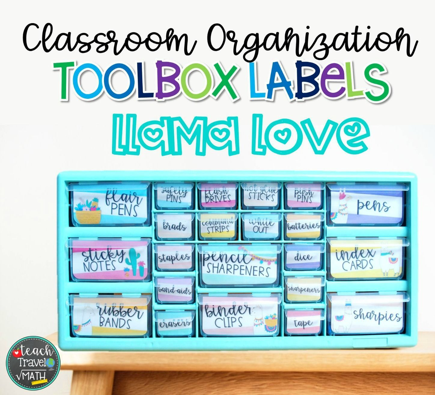 Teacher Toolbox Labels Llama Theme Teacher Toolbox Labels Teacher Toolbox Teachers Toolbox