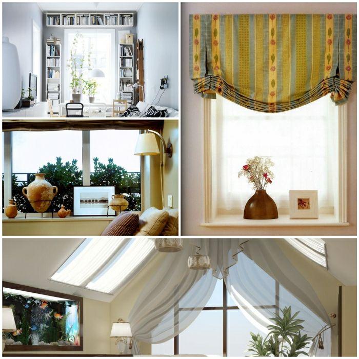 fensterdekoration fenster gestalten fenster dekorieren Wohnideen - deko fenster wohnzimmer