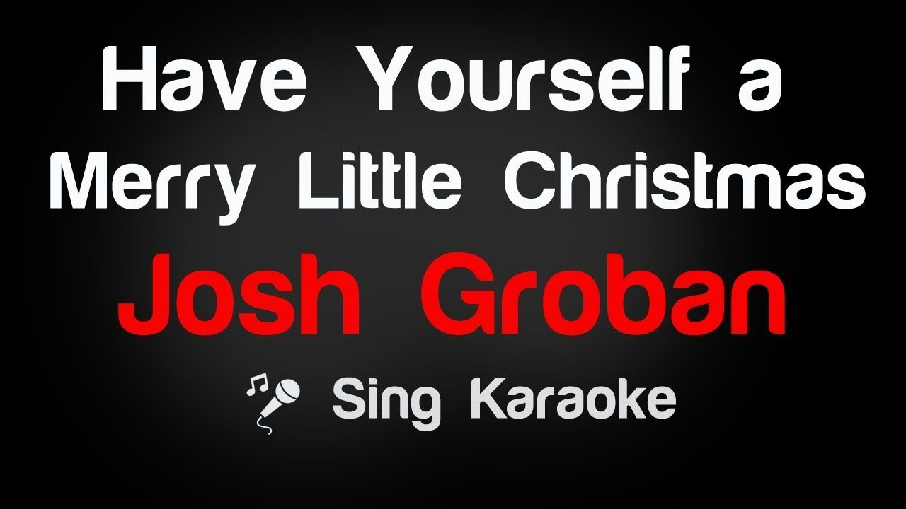 Pin By Ktventertainment On Karaoke Lyrics Karaoke Merry Little Christmas Lyrics