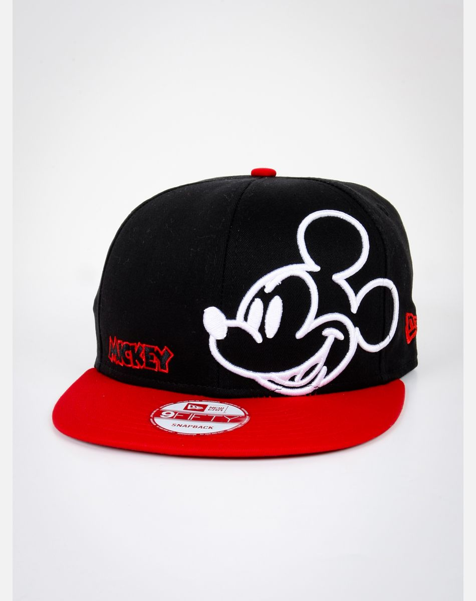 da1362ccc723d New Era Neon Mickey Mouse Snapback Hat it looks so cool I want this ...