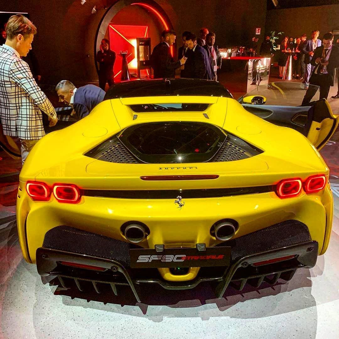 Ferrari Introduces The Hybrid Sf90 Stradale Supercar: Here She Is ???????? By @rossolibano The New Ferrari SF90