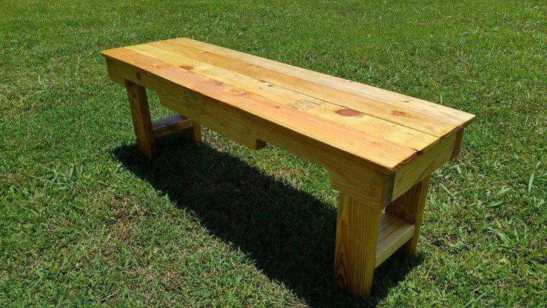 diy wood pallet garden bench hubby projects in 2018 pallet rh pinterest com