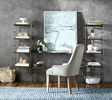 Leona Desk Patty Office Bedroom Desk Bookcase Home