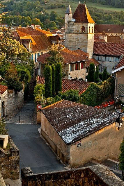 Figeac, France  | by © Vincent Besanceney | via freedom-of-idea