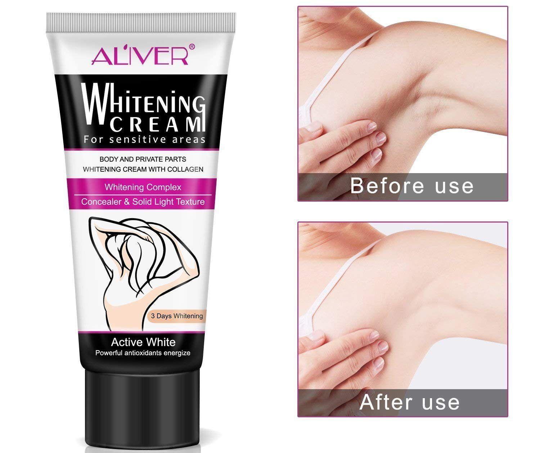 3 productos para eliminar las manchas oscuras de la entrepierna y las axilas