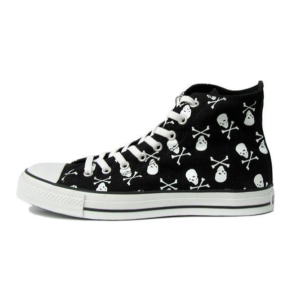 ba6798597782 15 skull converse shoes - Skullspiration.com - skull designs