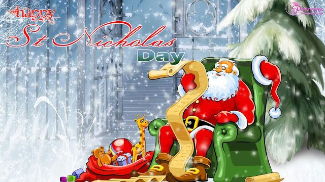 Amazing Happy Saint Nicholas Day   ECards, Quotes, Greetings, Wishes, HD Wallpapers