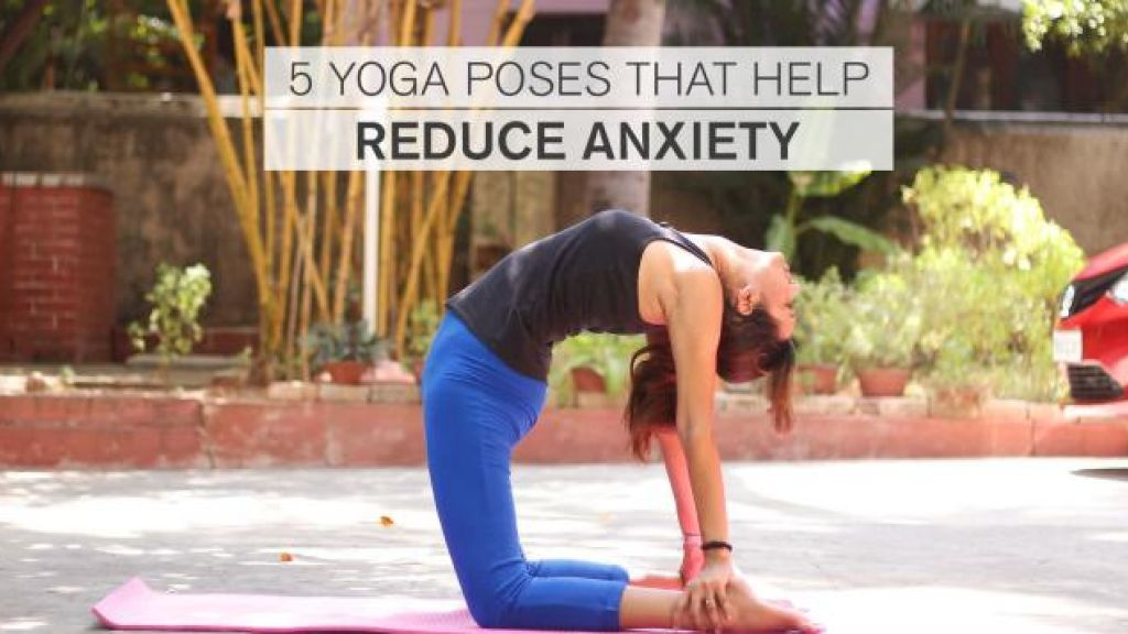 5 Yoga Poses That Help Reduce Anxiety #anxietyhustle The hustle of life have become a serious cause of stress and anxiety for most of us. Anxiety is a disorder that sort of instigates fear, worry, apprehension, and nervousness. These emotions further affect how we behave, and if prolonged, they can affect you physically as well. Anxiety is unsettling, and while a mild bout may not have serious repercussions, severe anxiety can have a major impact on our everyday lives. Follow these five yoga pos #anxietyhustle