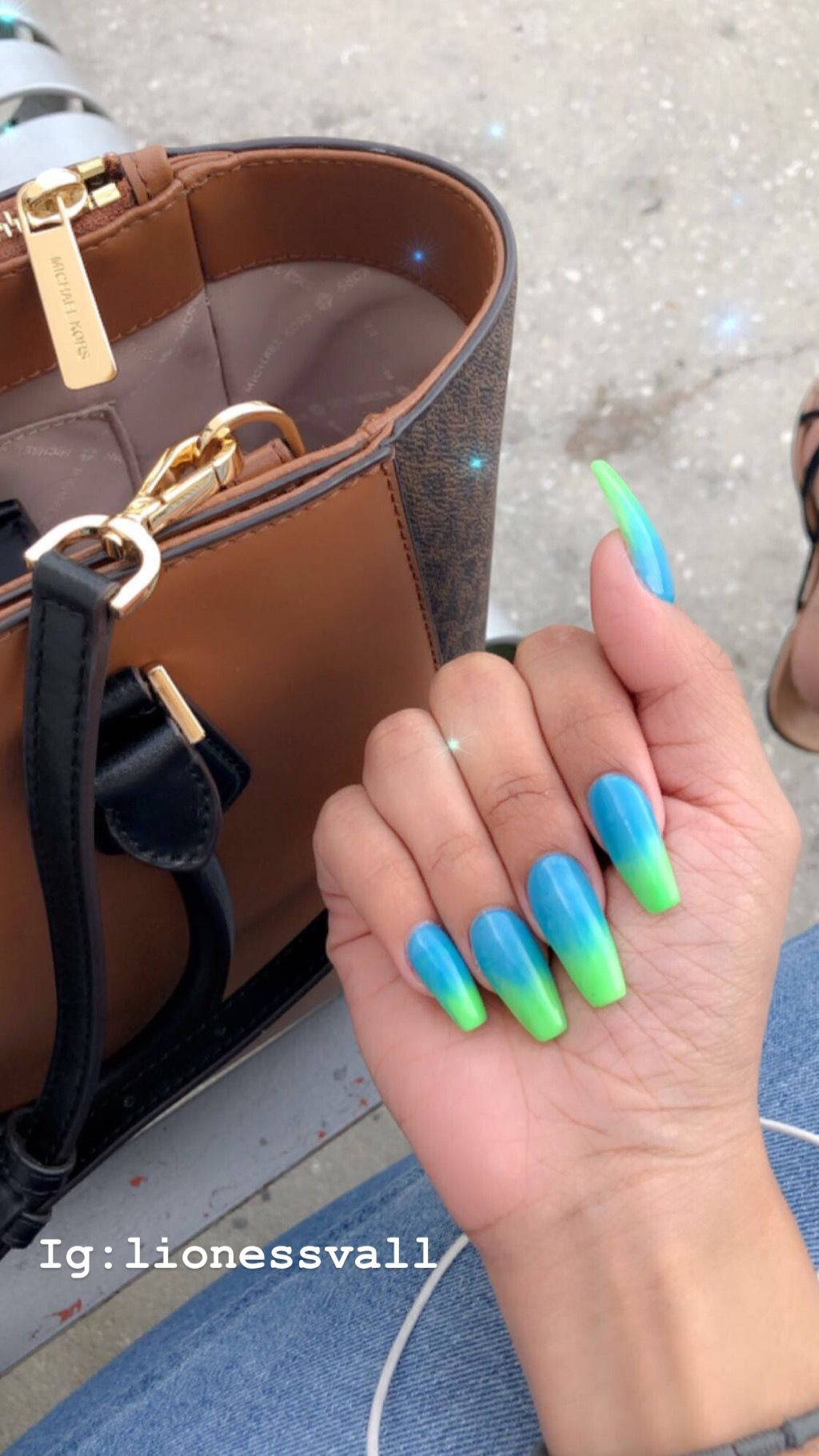 23 Cute And Simple Ideas For Ombre Nails Page 2 Of 2 Stayglam Green Acrylic Nails Green Nails Lime Green Nails