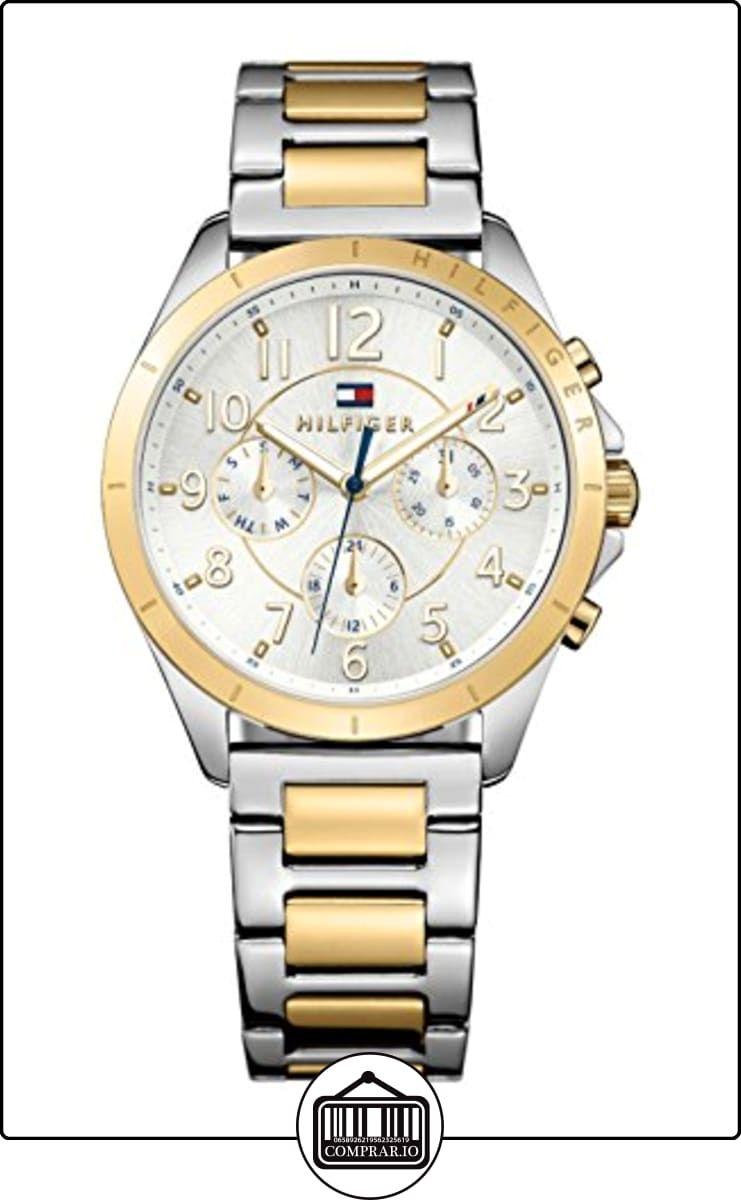 73c1af5bdcf8 Tommy Hilfiger mujer-reloj analógico de cuarzo chapado en acero inoxidable  1781607 ✿ Relojes para mujer - (Gama media alta) ✿