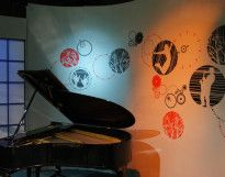Cenário Programa Estação Cultura TVE|RS