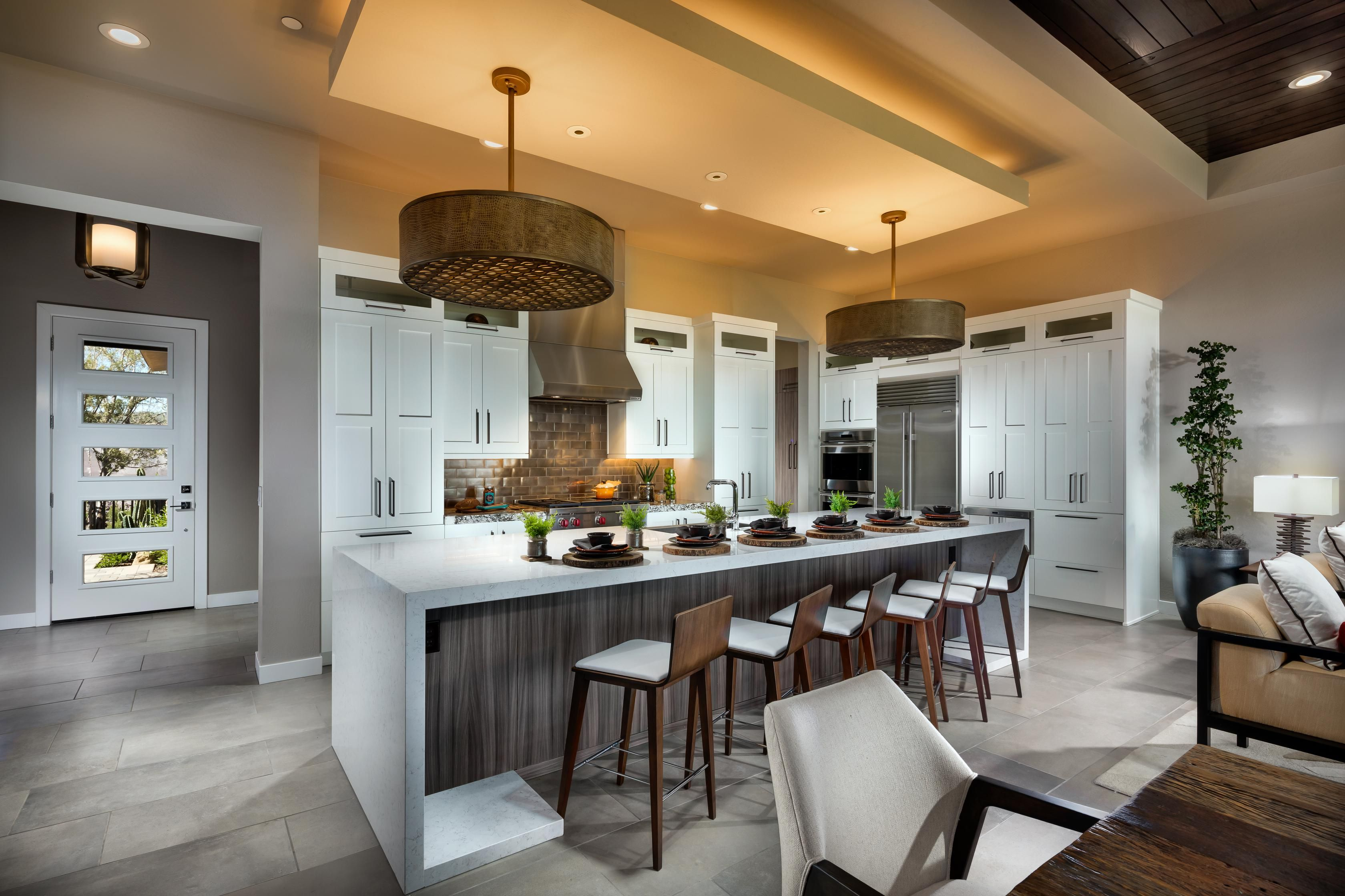 Sharpen Your Culinary Skills In This Spacious Kitchen Design From