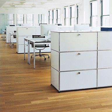Büromöbel | USM Haller | weiß | Möbel | Pinterest | Usm haller, Usm ...