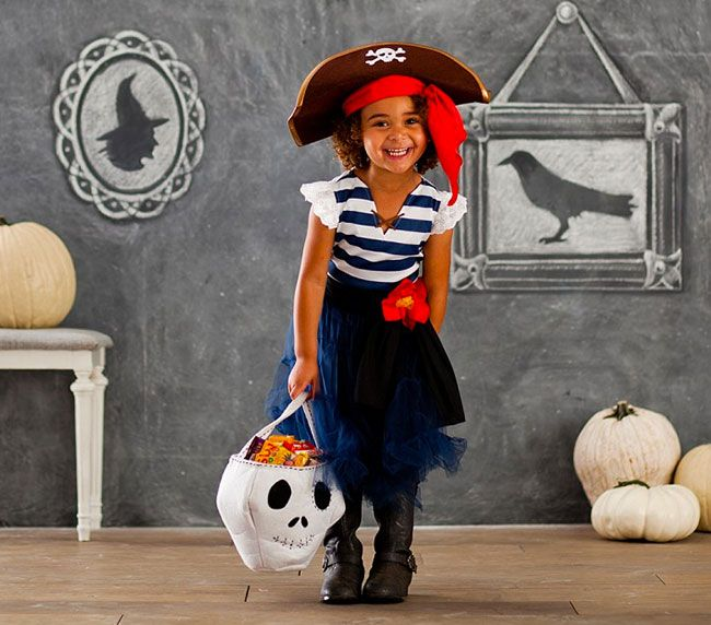 Diy Baby Girl Pirate Costume Easy-Peasy Pira...