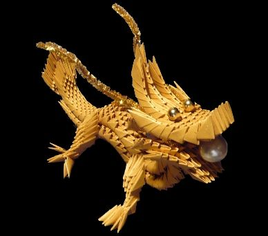 Chinese Dragon Origami Instructions