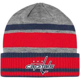 3a738456ae4 ... netherlands mens washington capitals adidas gray team logo cuffed knit  hat d2f07 22b91
