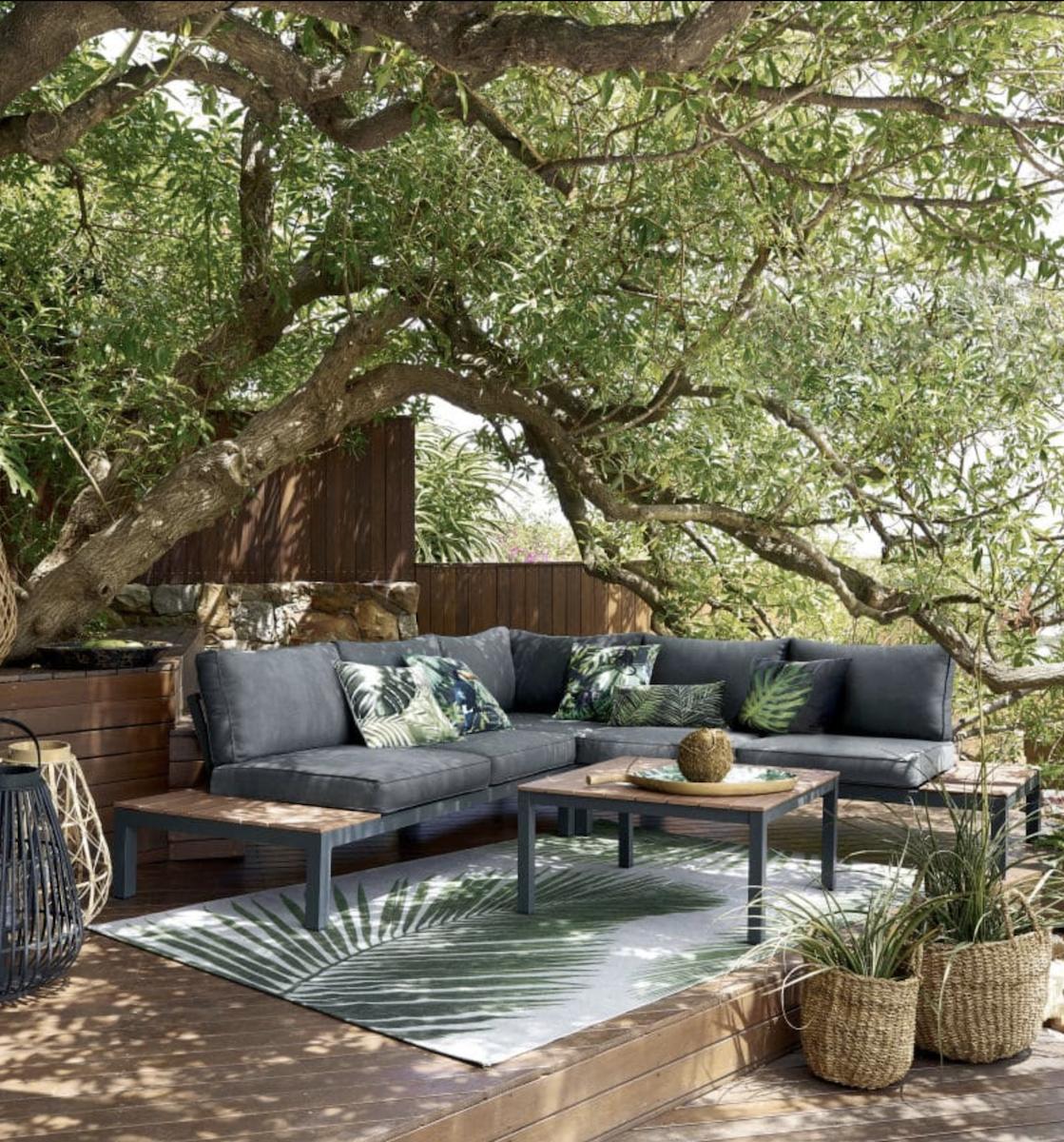 Où trouver un tapis extérieur pas cher | Terrasses et jardin | Tapis ...
