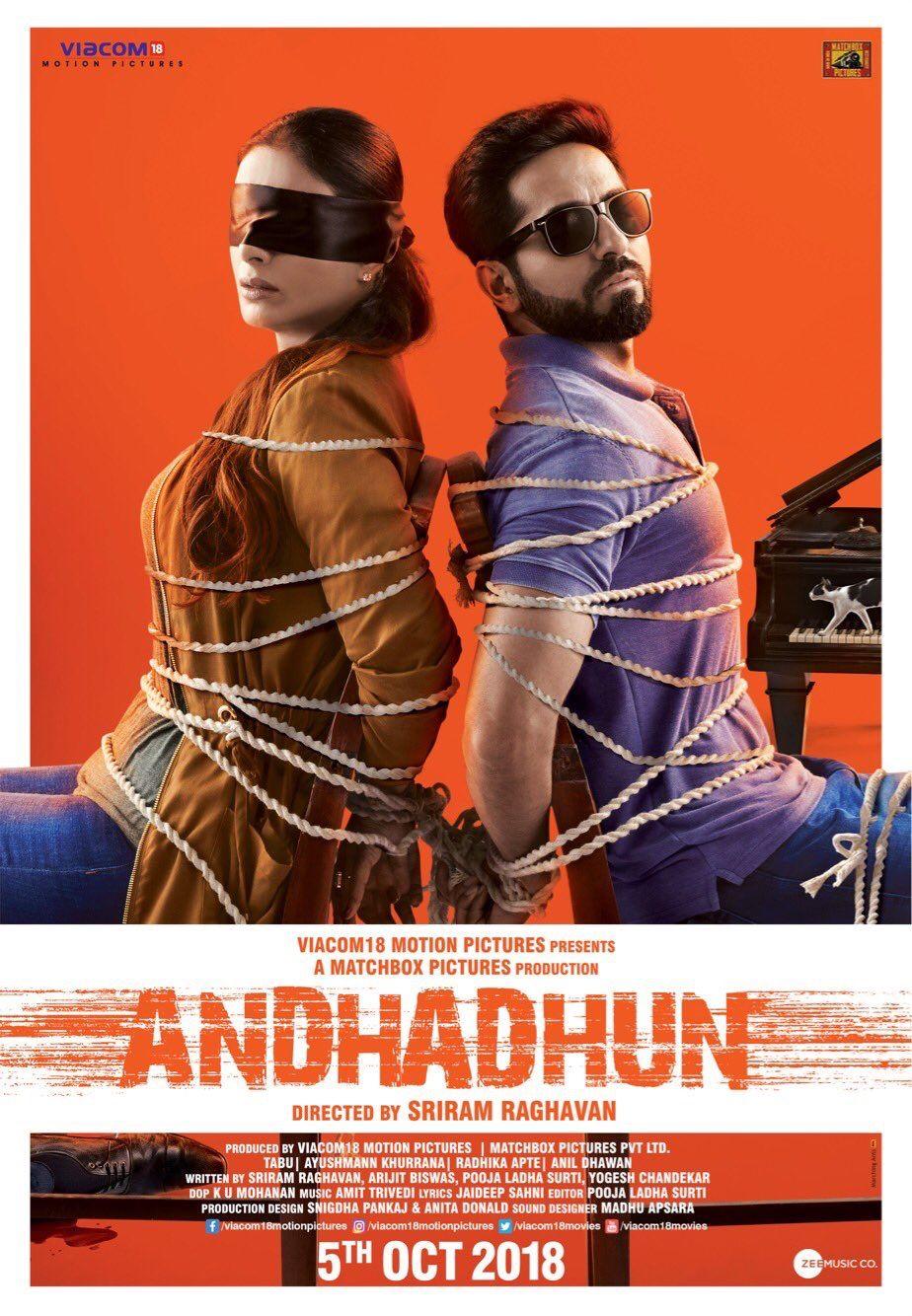 ANDHADHUN (2018) con TABU + Jukebox + Sub.Español + Online Cad07e4839afffb03cf26d4c13512439