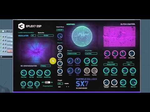 KVR: Eplex7 Particle Collider SX7 - hybrid scientific synthesizer by