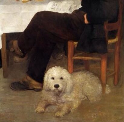 Pierre Auguste Renoir Detail With Images Dog Paintings