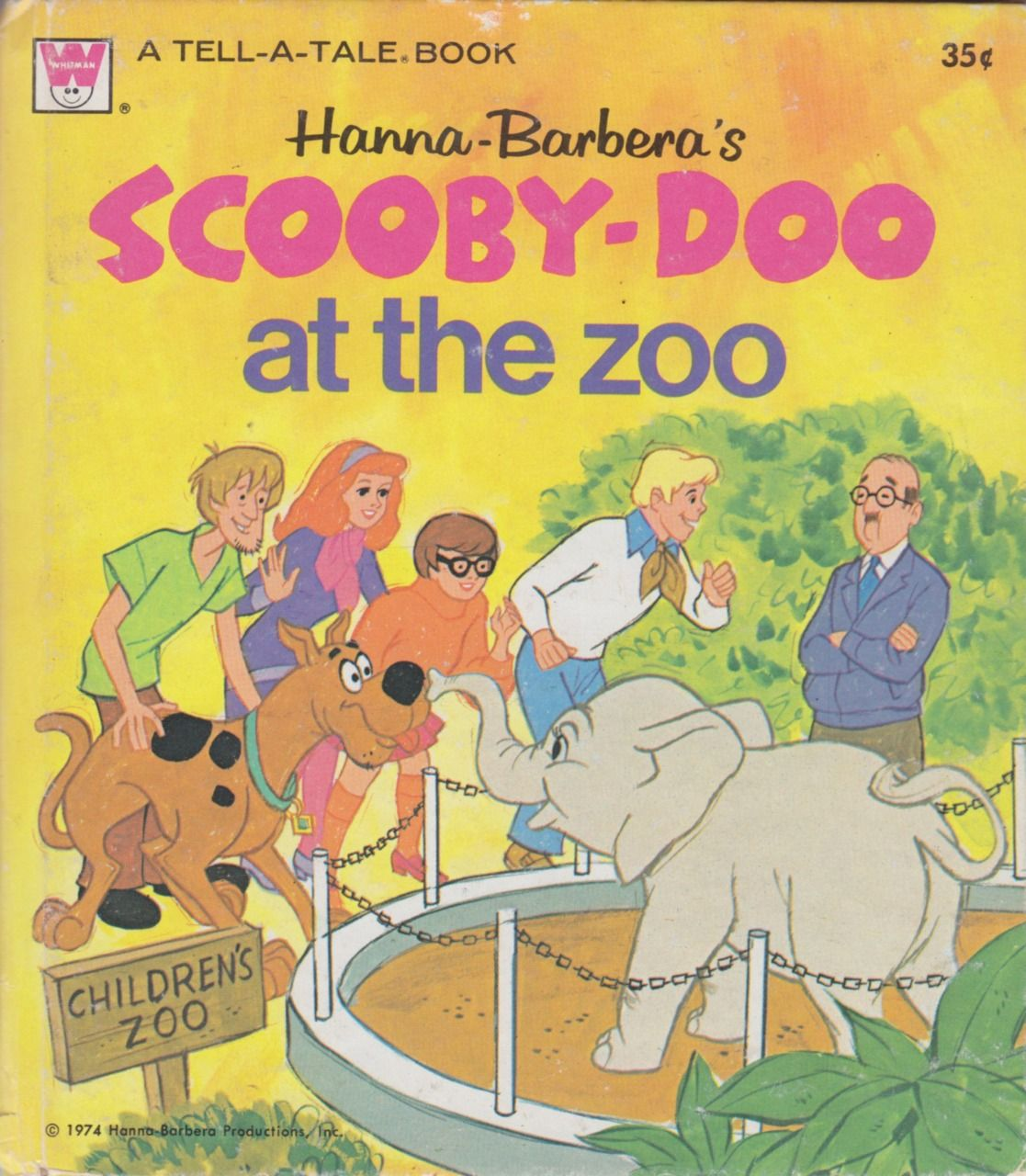 Whitman hot wheels coloring book - Whitman Tell A Tale Books 2570 Hanna Barbera S Scooby Doo At
