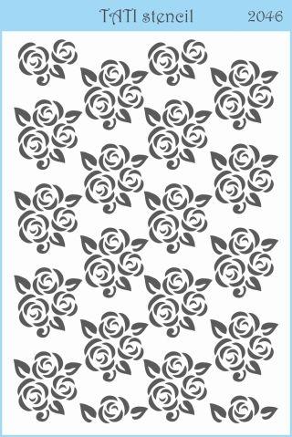 Трафарет объёмный TATI stencil 2046