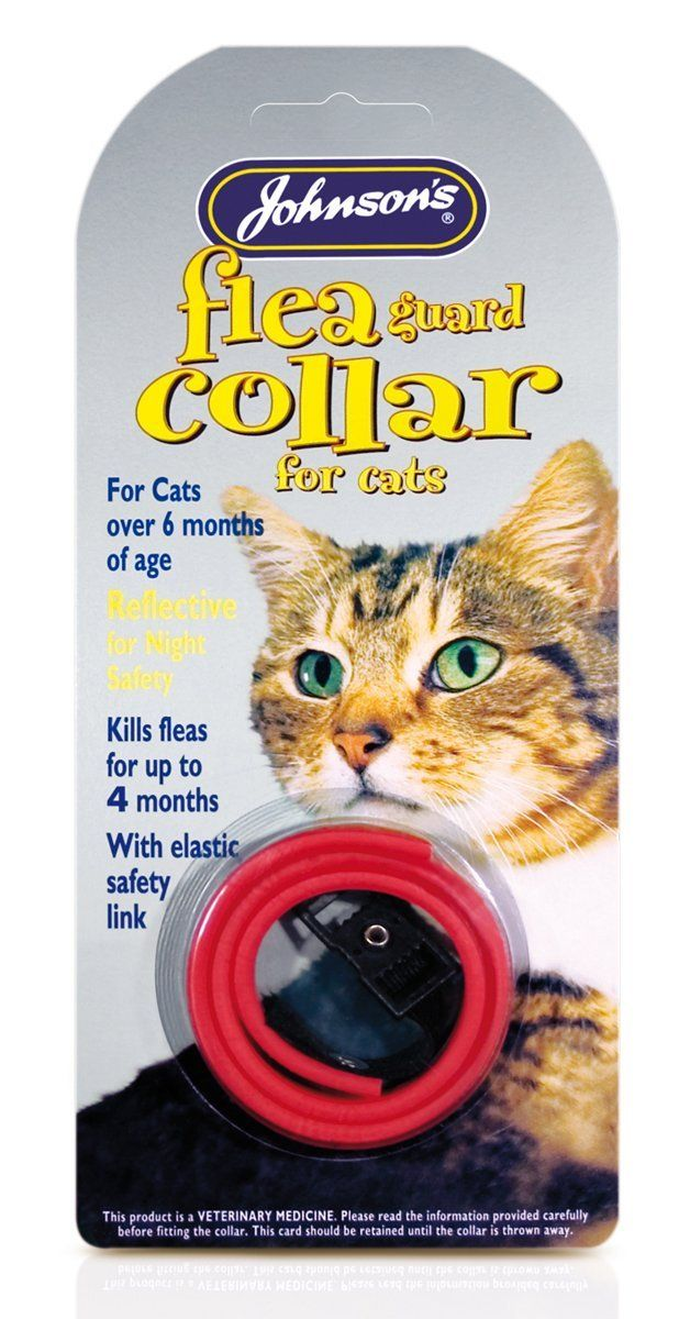 Johnsons Veterinary Flea Collar Continue To The Product At The Image Link This Is An Amazon Affiliate Cat Fleas Cat Flea Collar Cat Tags Collar