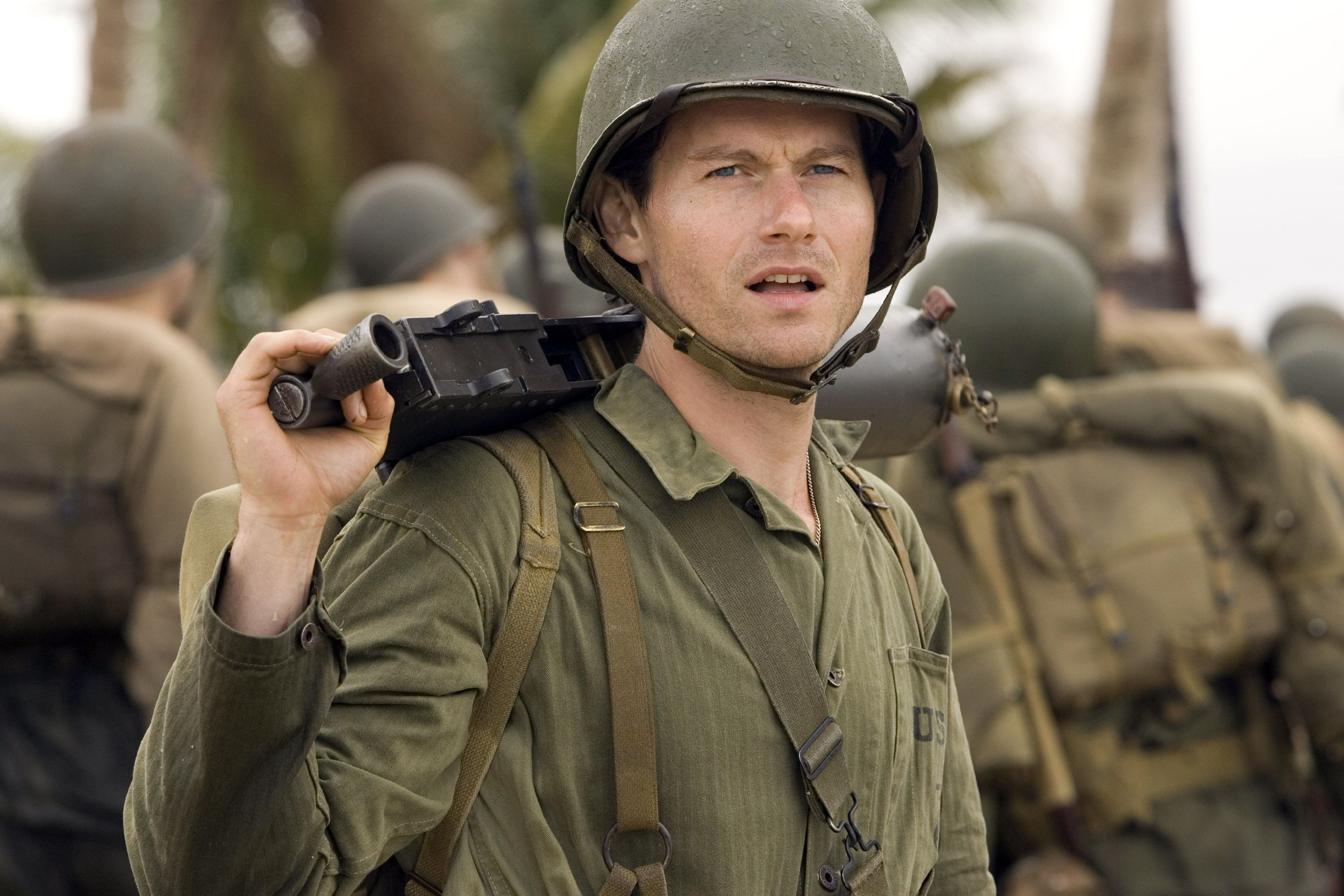 james badge dale the pacific - Google Search