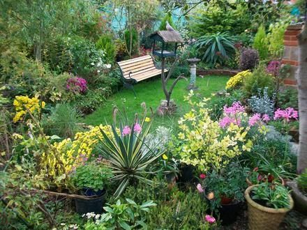 Algunas ideas para jardines peque os front yards planting and gardens - Ideas para jardines ...