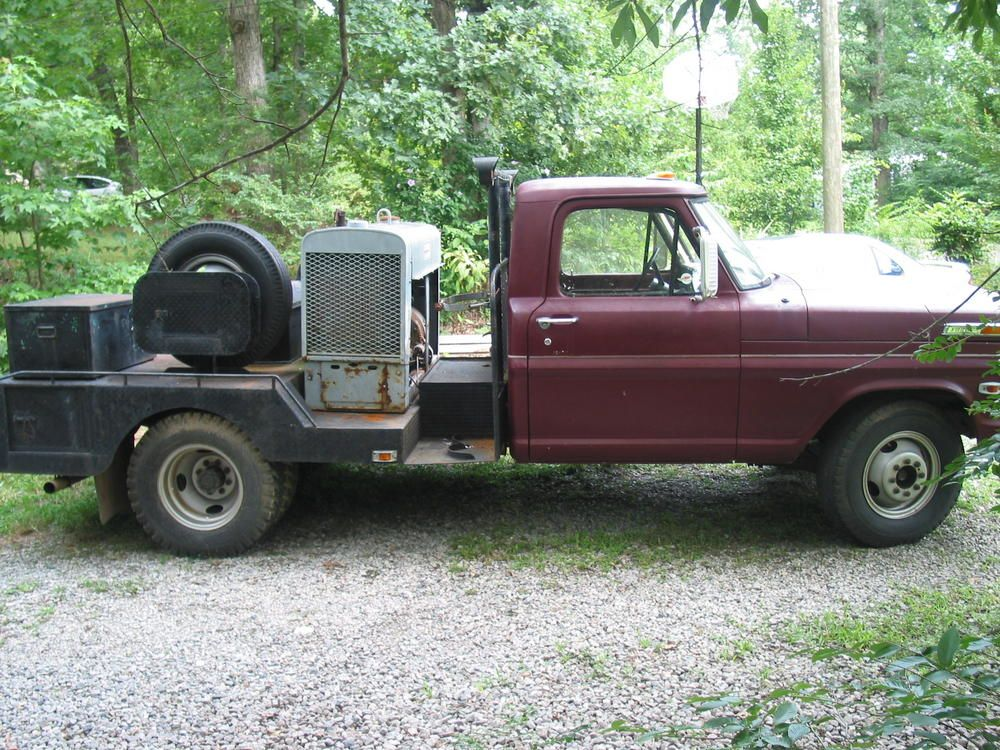 Reduced 1969 F350 Welding Rig Georgia Outdoor News Forum
