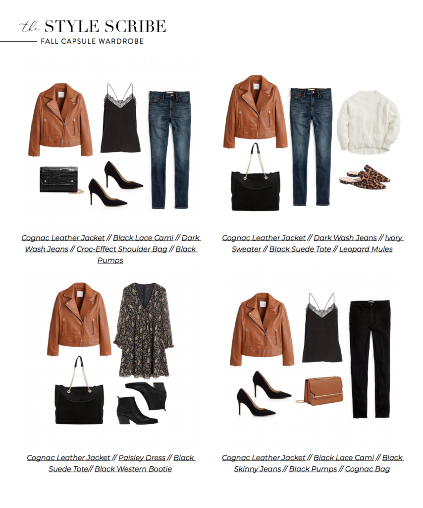 Photo of THE FALL 2019 CAPSULE WARDROBE // 26 PIECES, 100 OUTFITS | The Style Scribe