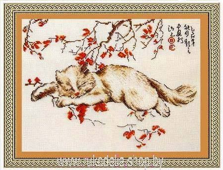 Набор вышивка крестом коты