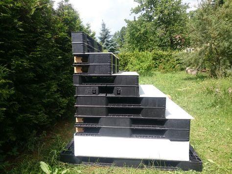 Pool stairs, Dog stairs, ramp KunststoffPaletten BWare