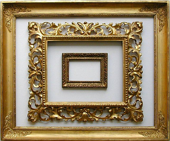 Looking Past The Painting To See The Value Of Antique Frames Antique Picture Frames Antique Frames Picture Frame Decor