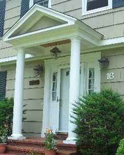 Front Porch 12 Inch Square Columns Google Search Square Columns Outdoor Decor Exterior Siding