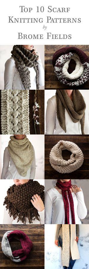 Top 10 Scarf Knitting Patterns