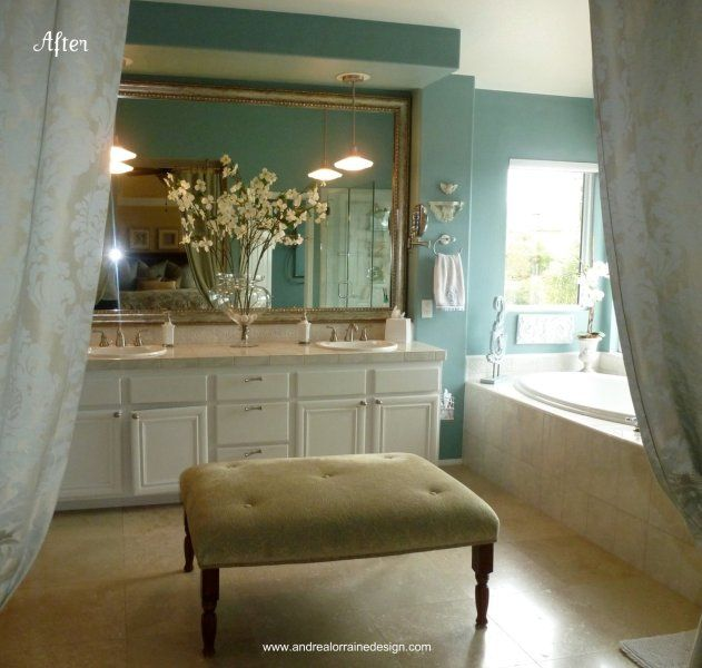 Andrea Parkford, redesigns gorgeous bathroom! Home Bits x