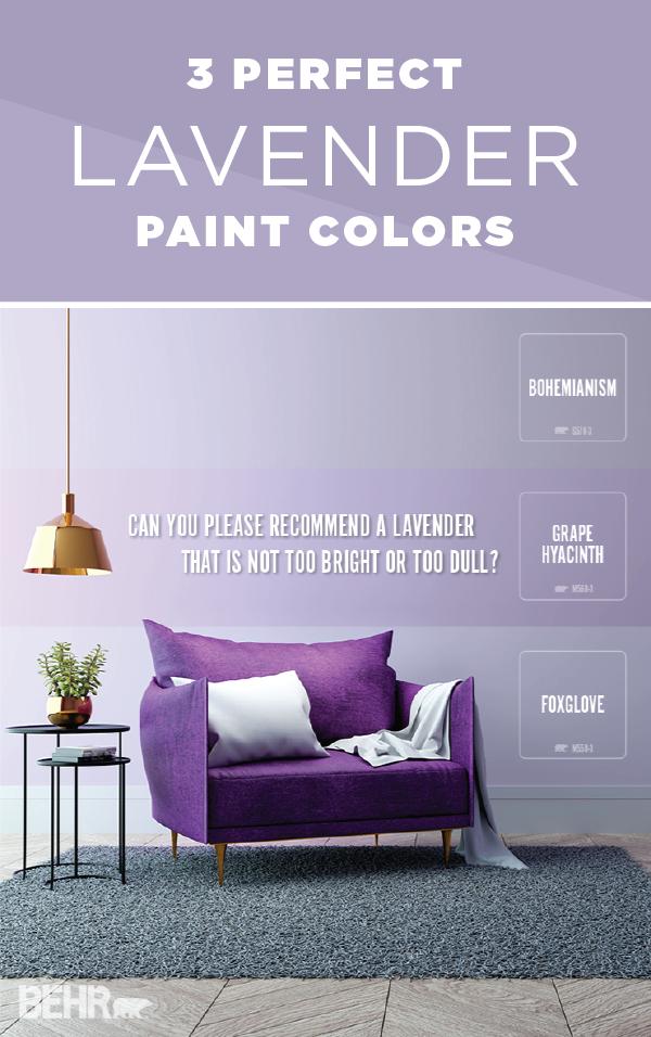 FAQ That Perfect Lavender Purple paint colors, Purple