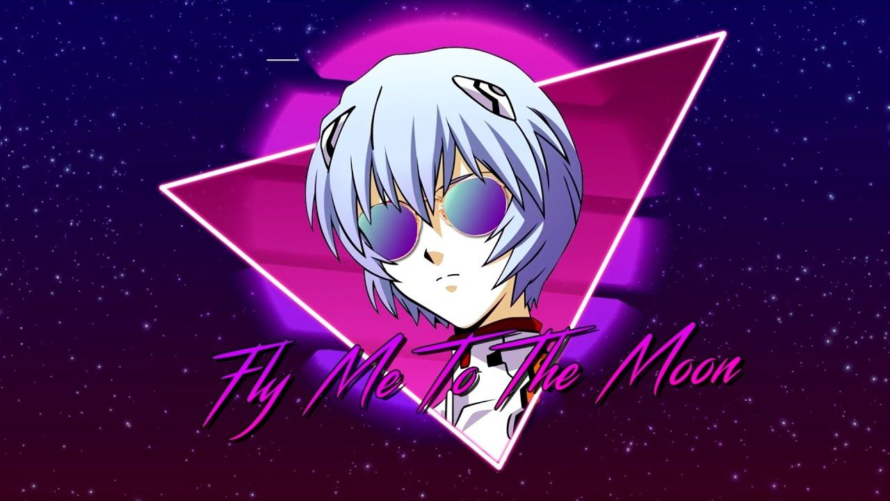 Fly me to the moon synthwave80s remix feat minttt