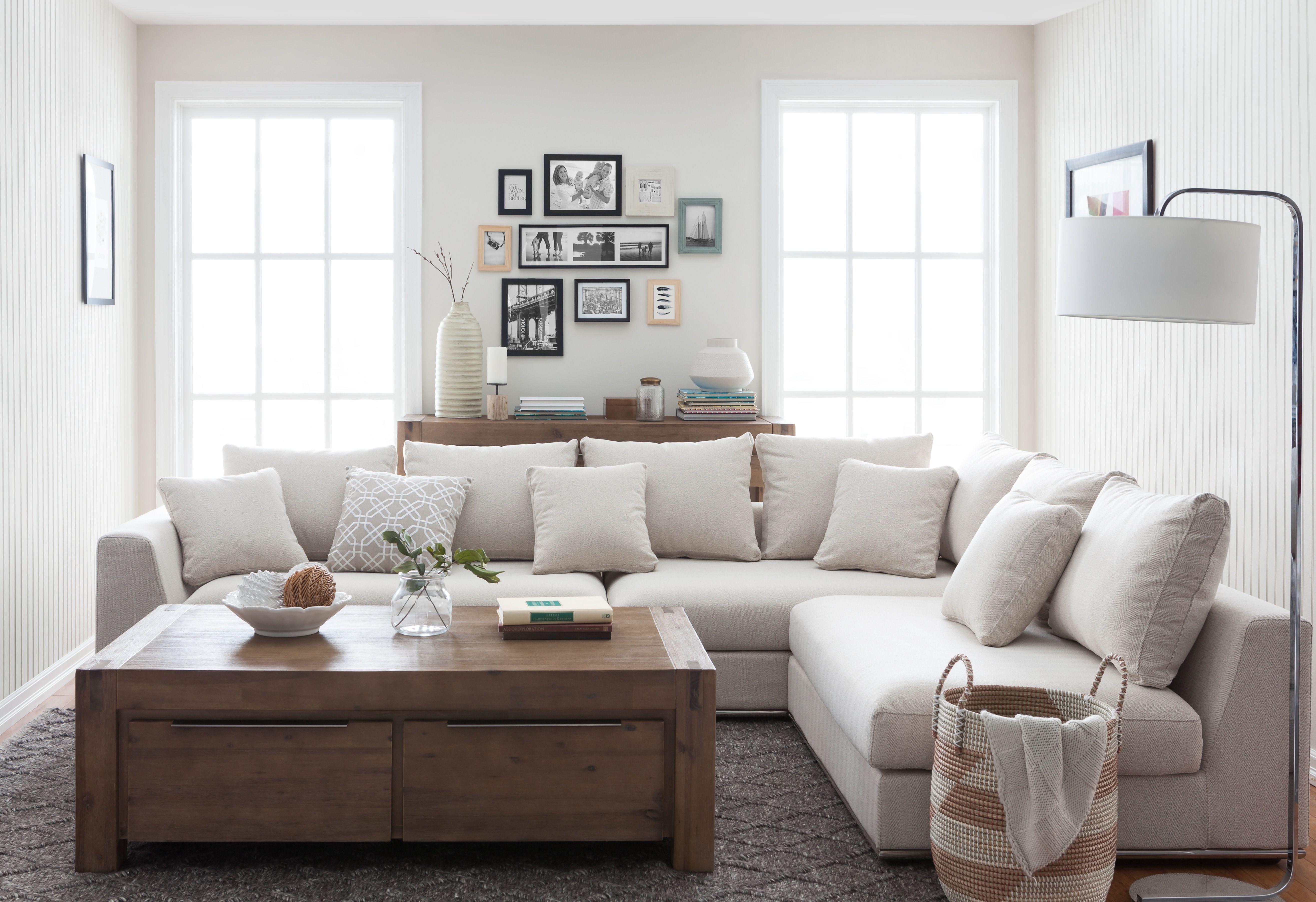 Garden Design Modular Sectional Sofa Beige Living Rooms Li