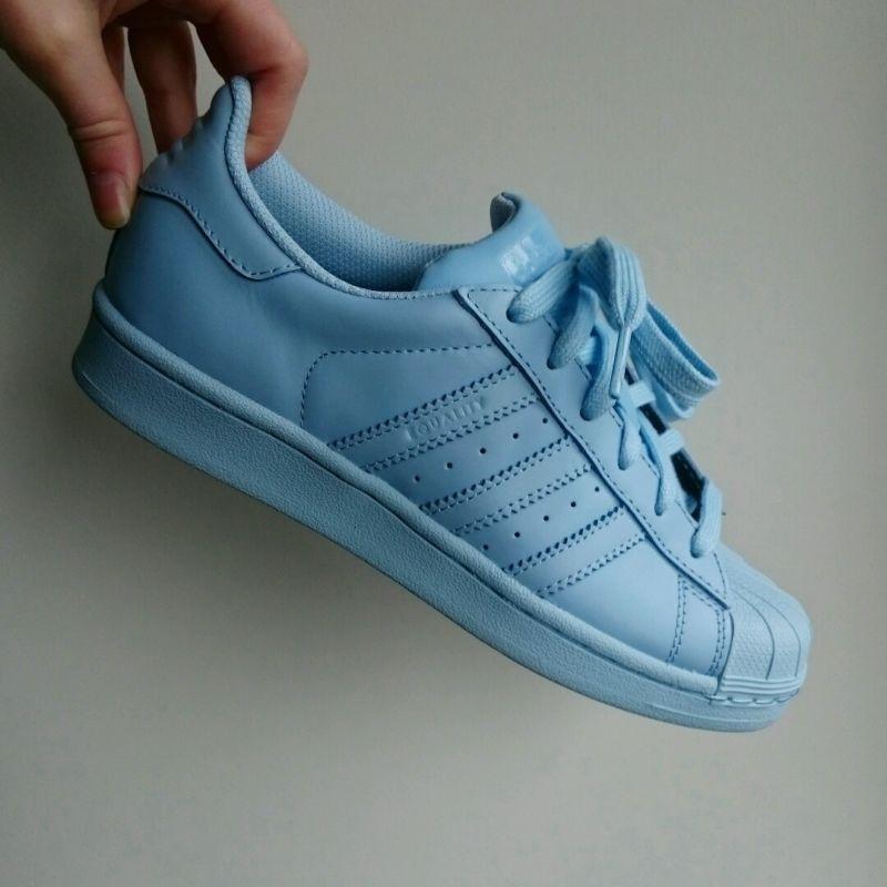 Adidas x Pharrell Williams Superstar Clear Sky Blue