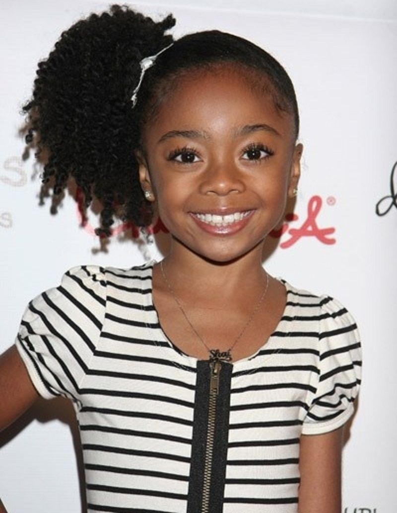 Cute hairstyles for black kids haircuts hairstyles 2015