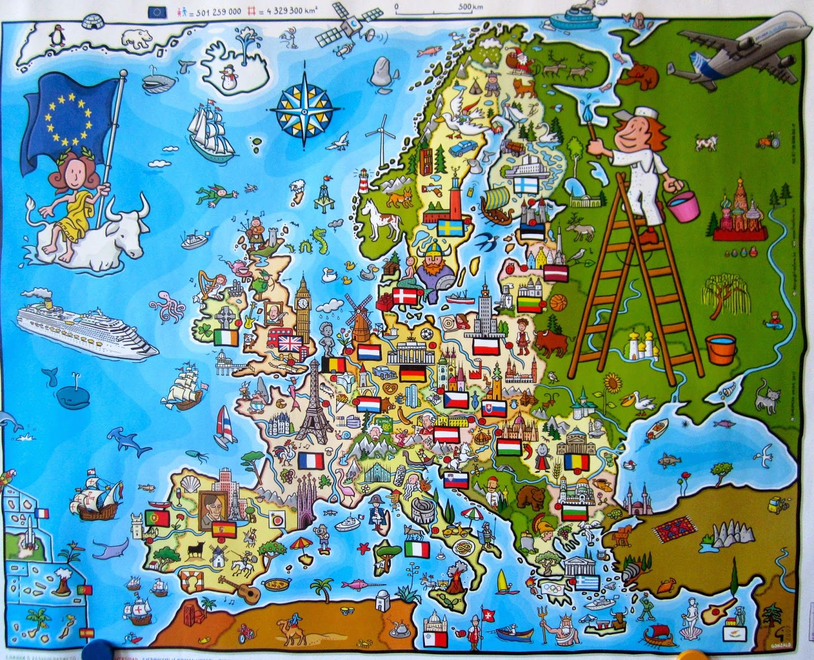 Eurooppa Paiva Tanska 2h Eurooppa Kartta Tanska