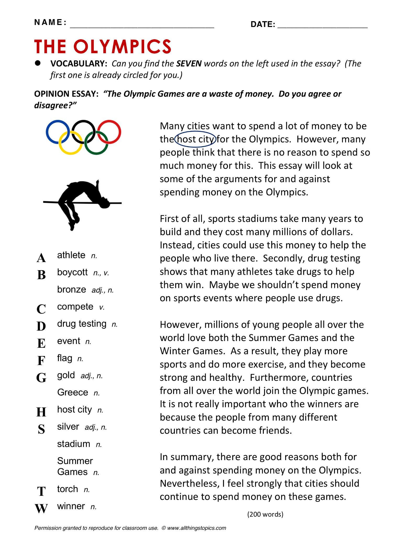 Olympics English Learning English Vocabulary Esl English Phrases Http Www Allthingstopics Co Obuchenie Anglijskomu Prepodavanie Anglijskogo Yazyka Chtenie [ 2048 x 1536 Pixel ]