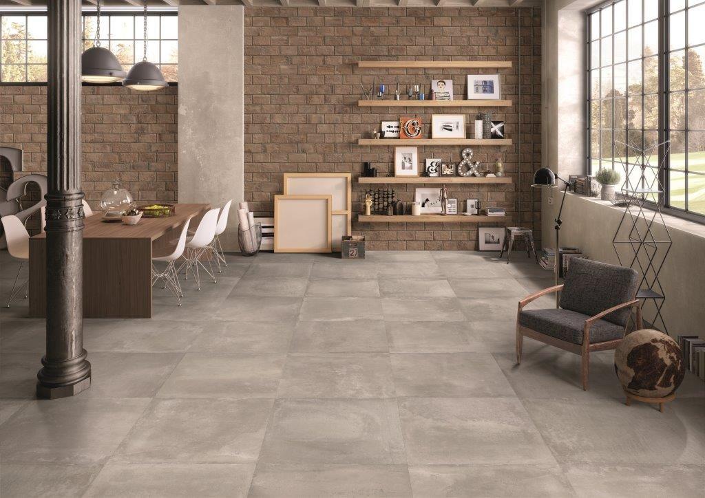 betonlook tegels i vloertegels i woonkamer i keuken i. Black Bedroom Furniture Sets. Home Design Ideas