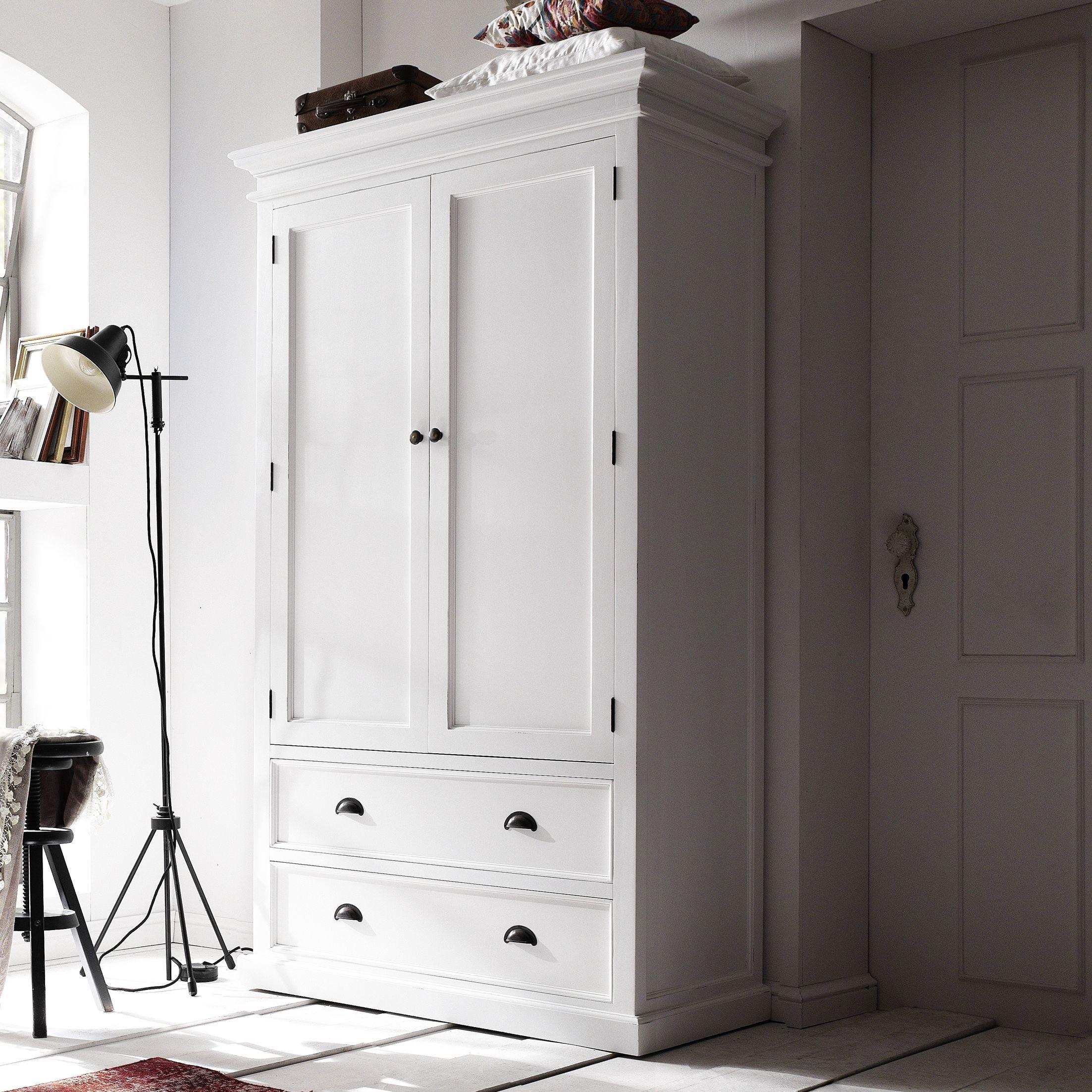 white wood wardrobe armoire shabby chic bedroom. Armoires \u0026 Wardrobes. Double WardrobeWhite Wooden White Wood Wardrobe Armoire Shabby Chic Bedroom