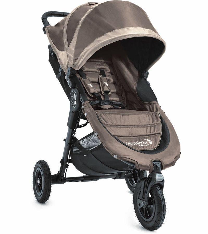 Baby Jogger City Mini GT Compact All Terrain Stroller Sand